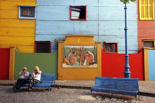 Buenos Aires Caminito colores la viajera blog
