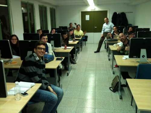Clase del master publicidad, comunicación y marketing digital en el IED 2011