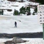 Una jornada de esquí de fondo en los Llanos del Hospital