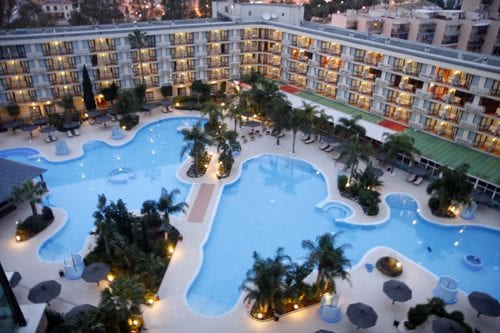 Malaga hotel Melia Principe instalaciones