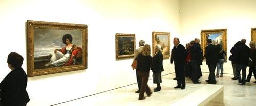 Salas de museo Carmen Thyssen