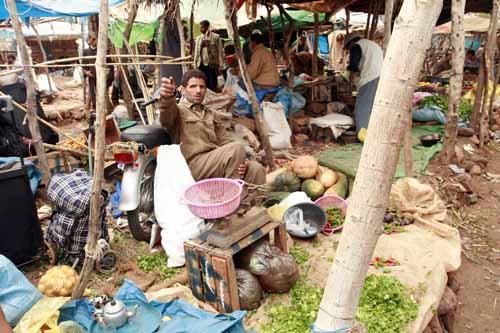 Mercado de Tahanaounate, en el Alto Atlas