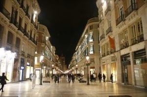 calle Larios de Malaga