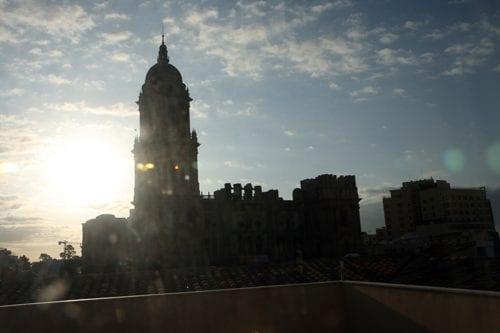 catedral de malaga desde el hotel Petit Palace