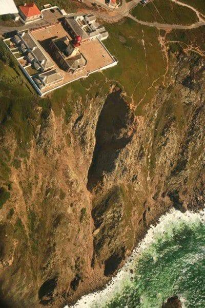 Cabo da roca portugal blog la viajera vista aerea