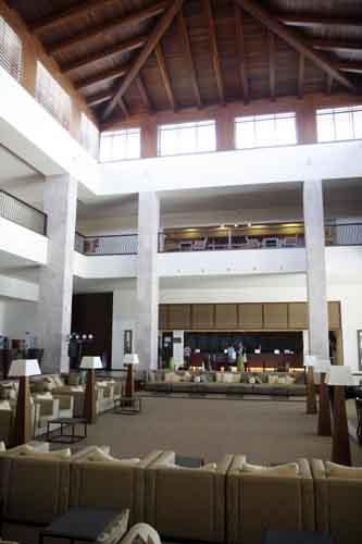 Lanzarote NH resort recepcion blog la viajera