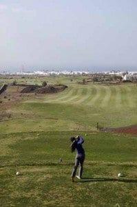 Lanzarote campo golf blog la viajera