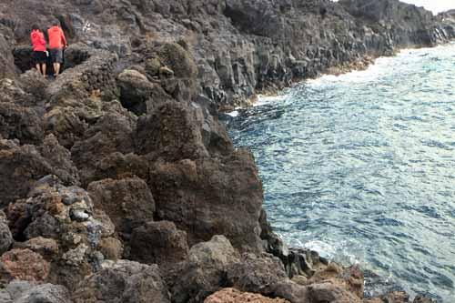 Lanzarote panoramica desde los hervideros