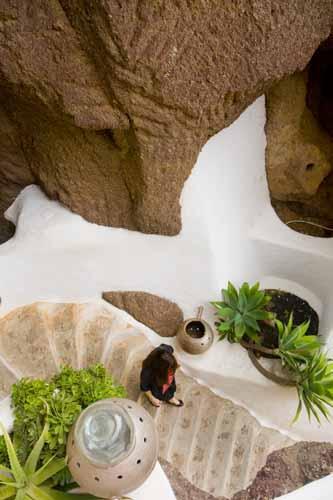 Lanzarote lagomar escaleras