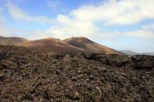 Dunas de lava en Timanfaya