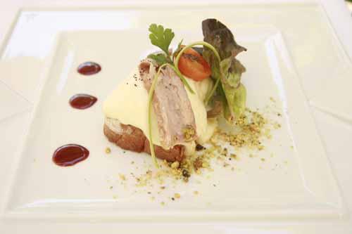 Parador Santo Estevo plato la viajera blog