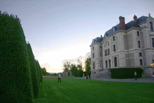 Castillo de la Caniere en Auvernia, Francia