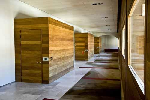 Detalle pasillo parador de Alcala de Henares