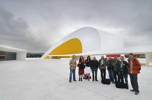 Bloggers de viajes en la Niemeyer