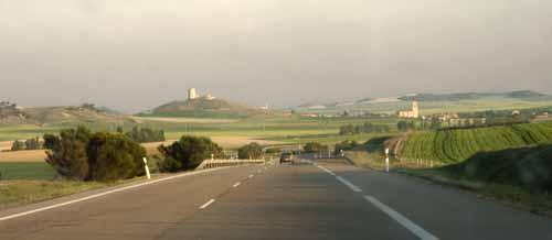 Castilla paisajes carretera blog