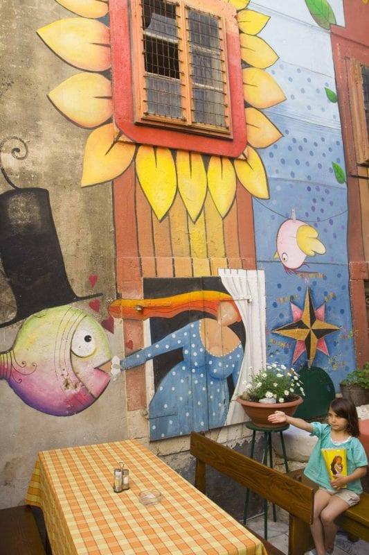 Zadar está lena de rincones coloristas