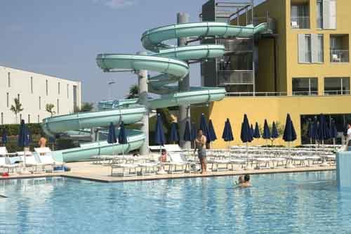 Hotel Diadora zadar tobogan y piscinas