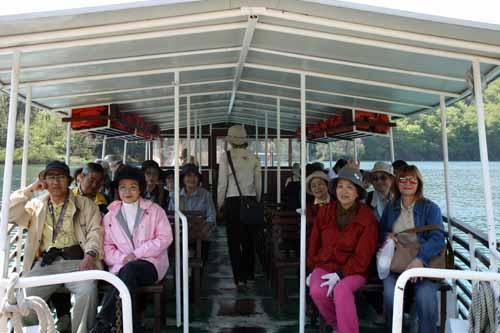 Plitvice barco japoneses baja blog