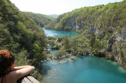 Plitvice panoramica Croacia parque