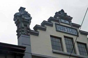Pozo San Luis asturias industrial fachada blog