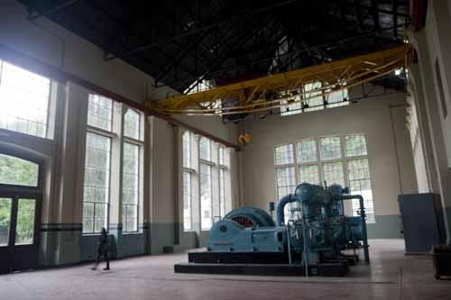 Pozo San Luis maquinaria Asturias industrial blog