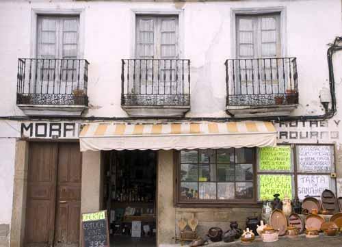 Puebla de Sanabria, tienda de productos típicos