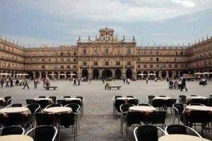 Salamanca Plaza Mayor blog