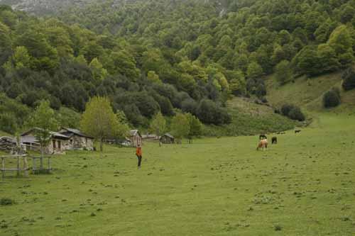 Brañagallones en Redes Asturias paisaje