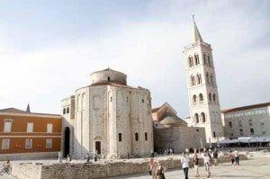 zadar iglesia san Donato