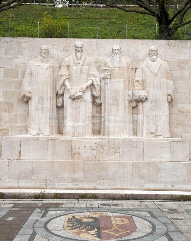 Homenaje a la Reforma en el parque Bastions