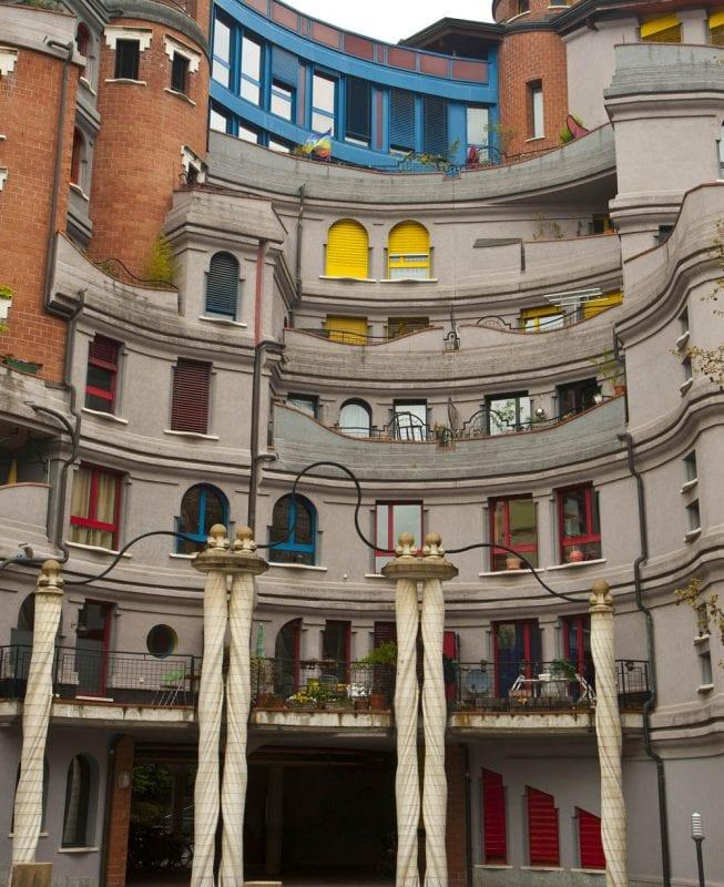 Barrio de los Pitufos en Ginebra