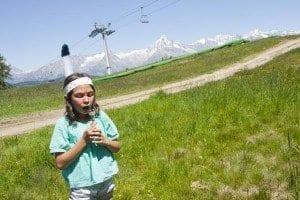 Panorámica de los Alpes Suizos