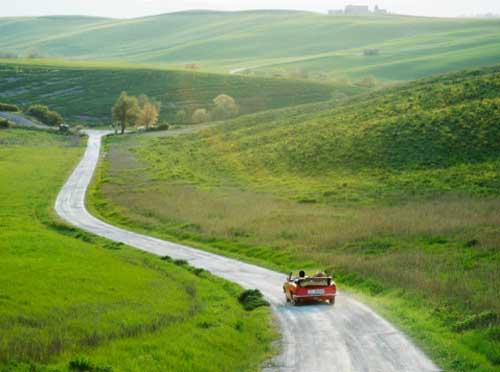 Ruta coche paisaje blog la viajera empedernida