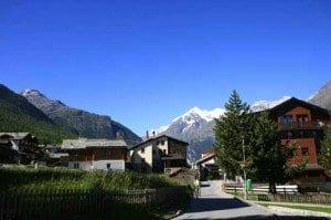 Suiza Grachen calle