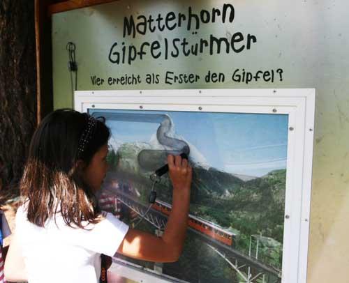 Suiza Grachen juego Ravensburger