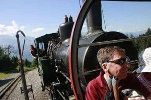 Suiza tren vapor Rothorm