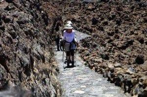 Teide subida crater blog