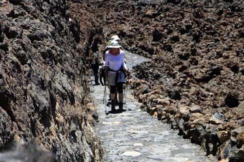 Subida a la cima del Teide
