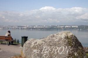Mirador de Lord Byron en Ginebra