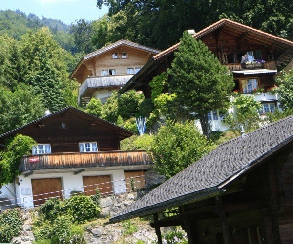 Brienz Suiza Jobin bed and breakfast