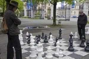Ginebra parque bastions ajedrez blog