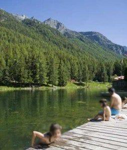 Grachen Suiza lago blog paisaje