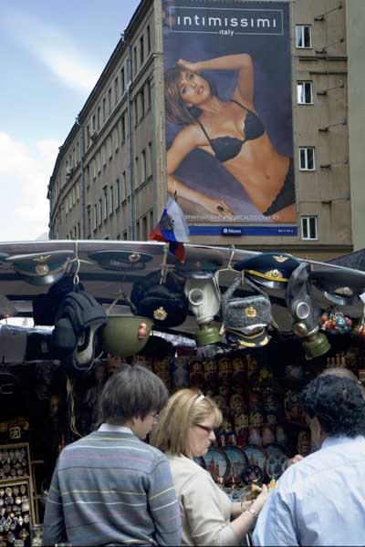 Moscu gorros sovieticos y publicidad blog