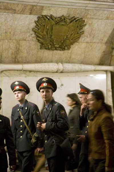 Moscu policia metro blog