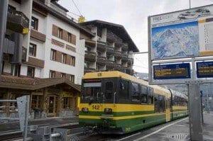 Suiza Grindenwald estacion jungfrau
