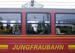 Suiza tren Jungfrau blog