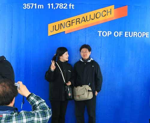 Suiza Jungfrau top of europa mirador nani arenas blog
