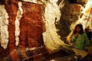 Suiza Leman minas de sal de Bex colores