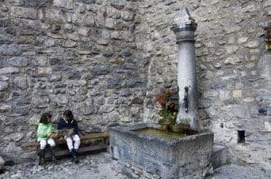 Suiza montreux castillo chillon niños folleto blog