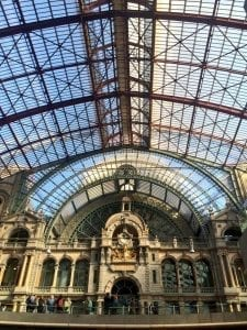 Estación de tren de Amberes